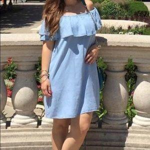 Zara Mini Denim Dress